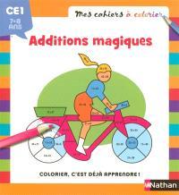 Coloriage magique, maths : CE1