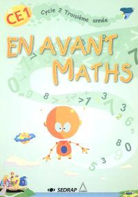 En avant Maths CE1, cycle 2 troisième année