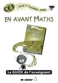 En avant Maths CE1, cycle 2 troisième année : guide de l'enseignant