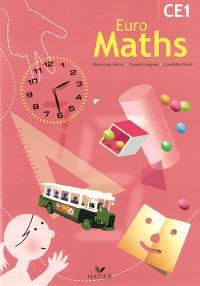Euro maths CE1 : fichier de l'élève