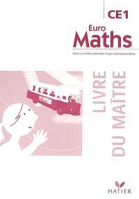 Euro maths, CE1 : livre du maître