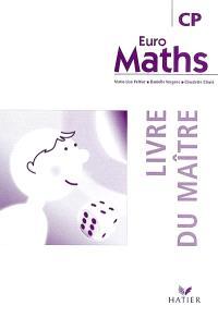 Euro maths, CP : livre du maître