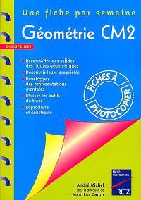 Géométrie CM2 : une fiche par semaine