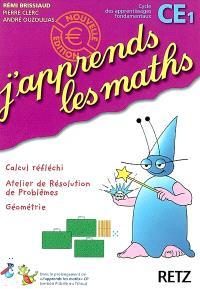 J'apprends les maths CE1 : fichier de l'élève