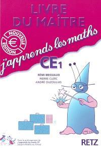 J'apprends les maths CE1 : livre du maître