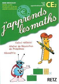 J'apprends les maths CE2 : fichier de l'élève