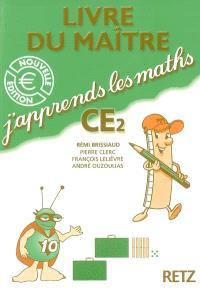 J'apprends les maths CE2 : livre du maître