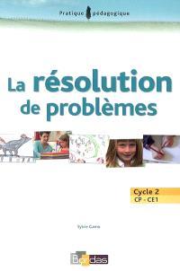 La résolution de problèmes : cycle 2, CP-CE1