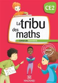 La tribu des maths CE2 : pack manuel + cahier de géométrie