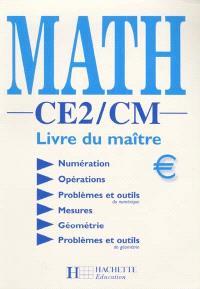 Math CE2-CM : livre du maître