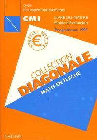 Math en flèche : cycle des approfondissements CM1 : livre du maître, guide d'évaluation