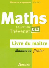 Mathématiques CE2 : livre du maître