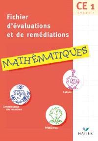 Mathématiques, CE1