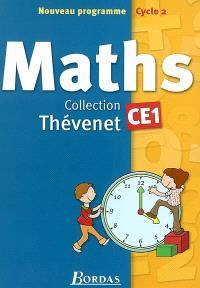 Maths : fichier de l'élève, CE1