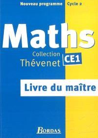 Maths : livre du maître, CE1