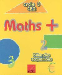 Maths + cycle 3 CE2 : bilan des acquisitions