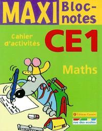 Maths CE1 : cahier d'activités