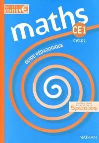 Maths CE1 : guide pédagogique