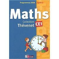 Maths CE1, cycle 2, programmes 2008 : fichier de l'élève