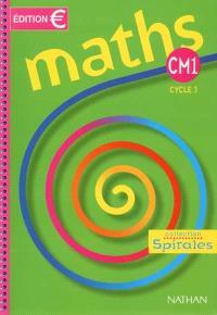 Maths CM1 : cycle des approfondissements : manuel de l'élève