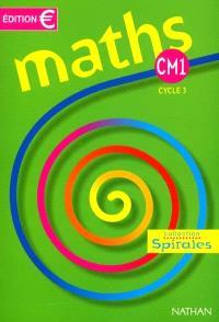 Maths CM1 : fichier élève