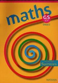 Maths GS-CP : fichier de l'élève