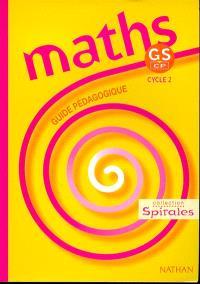 Maths GS-CP : guide pédagogique