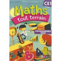 Maths tout terr@in CE1, cycle 2, programmes 2008 : fichier de l'élève