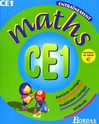Maths, CE1