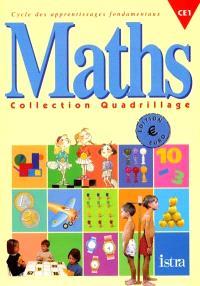 Maths, CE1, cycle des apprentissages fondamentaux : fichier élève, euro