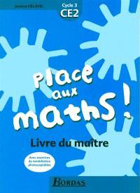 Place aux maths, CE2 : livre du maître