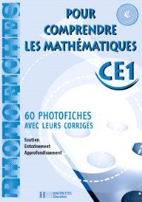Pour comprendre les mathématiques, CE1, cycle 2 : photofiches, Euro