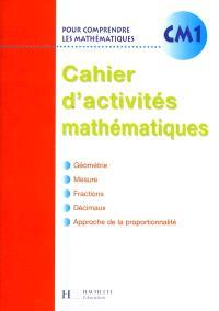 Pour comprendre les mathématiques, CM1 : cahier d'activités, Euro
