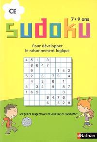 Sudoku, CE, 7-9 ans : pour développer le raisonnement logique : les grilles progressives de Juliette et Alexandre