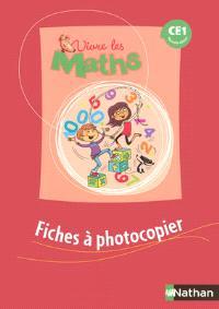 Vivre les maths CE1 : fiches à photocopier : programmes 2002