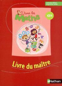 Vivre les maths CE1 : livre du maître
