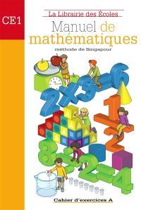 Mathématiques méthode de Singapour CE1 : ex A