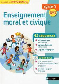Enseignement moral et civique, cycle 3 : programme 2015