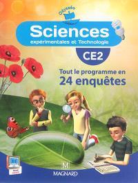 Sciences expérimentales et technologie, CE2 : tout le programme en 24 enquêtes