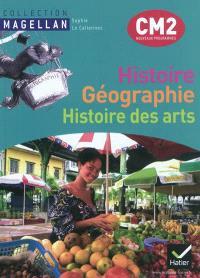 Histoire, géographie, histoire des arts CM2 : conforme au socle commun et aux nouveaux programmes; Atlas histoire géographie CM2