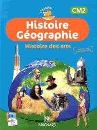 Histoire géographie, histoire des arts CM2