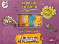 La planète des Alphas, La collection des 60 figurines alphas : 60 figurines à manipuler pour réaliser de nombreuses activités !