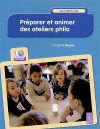 Préparer et animer des ateliers philo : de la MS au CE1