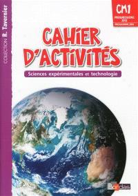 Cahiers d'activités : sciences expérimentales et technologie : CM1, progressions 2012, programme 2008