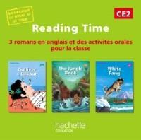 Reading time CE2 : 3 romans en anglais et des activités orales pour la classe