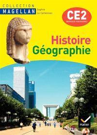 Histoire géographie, CE2 : conforme au socle commun et aux nouveaux programmes