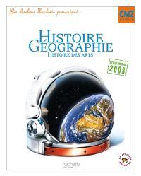 Histoire, géographie, histoire des arts CM2, cycle 3 : programmes 2008