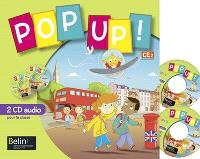 Pop up ! CE2 : 2 CD audio pour la classe