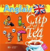Cup of tea anglais 2e année cycle 3 : 2 CD audio classe