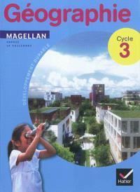 Géographie cycle 3 : développement durable